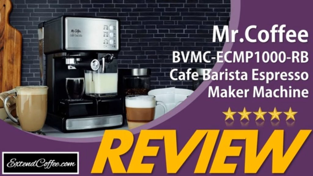 Review of Mr. Coffee Cafe Barista Espresso and Cappuccino Maker - Extend Coffee